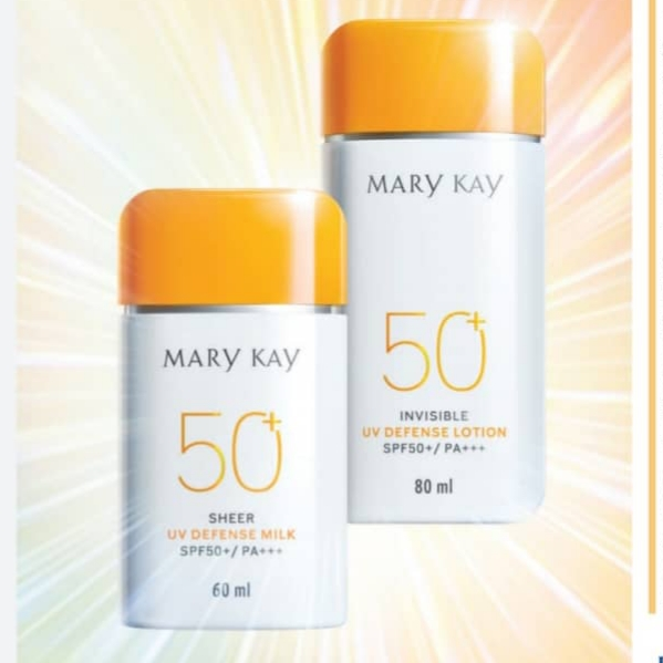 Beauty Review :Mary Kay Sheer UV Defense Milk SPF 50+/PA+++