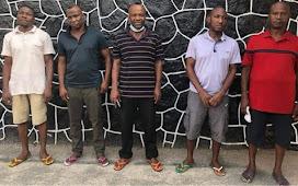 EFCC Arrests Five Men Over $257,822 Credit Card Fraud