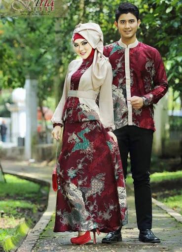 Contoh Model Baju Lebaran Couple Trend Terbaru Limited Edition