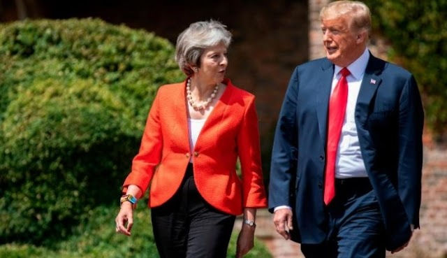 Phenomenal trade deal with UK is Possible: Trump
