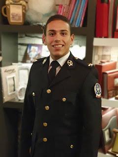 تهنئة قلبية بمناسبة تخرج الملازم أول محمد عبدالرحيم المصرى