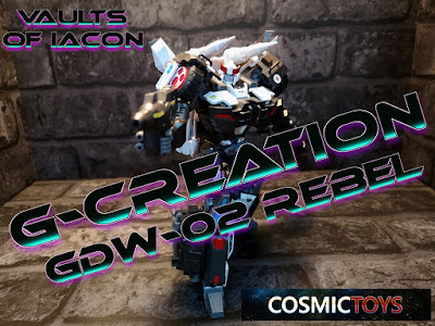 Vaults of Iacon Blog Review Gallery Cosmic Toys Masterpiece IDW Rebel GCreations Prowl
