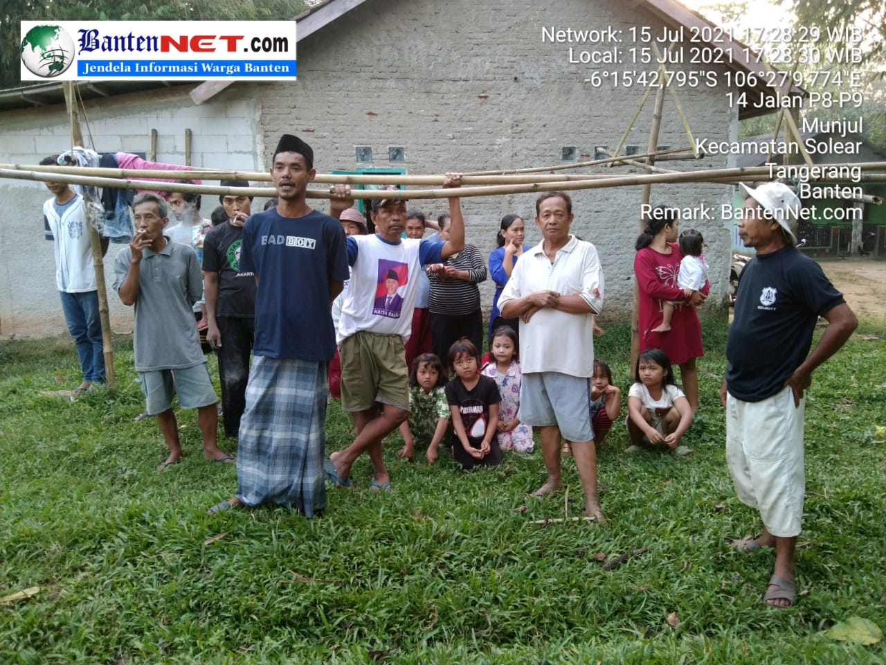 DPPP di Anggap Berbohong Terkait Kegiatan SAB Yang di Pindahkan, Warga Kp Leungsir Tetap Menuntut