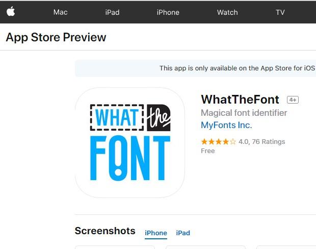 Aplikasi iOS Untuk Mendeteksi Font Melalui Gambar 2019