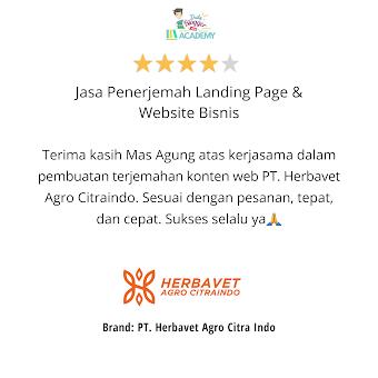 Jasa Penerjemah Landing Page dan Website Bisnis