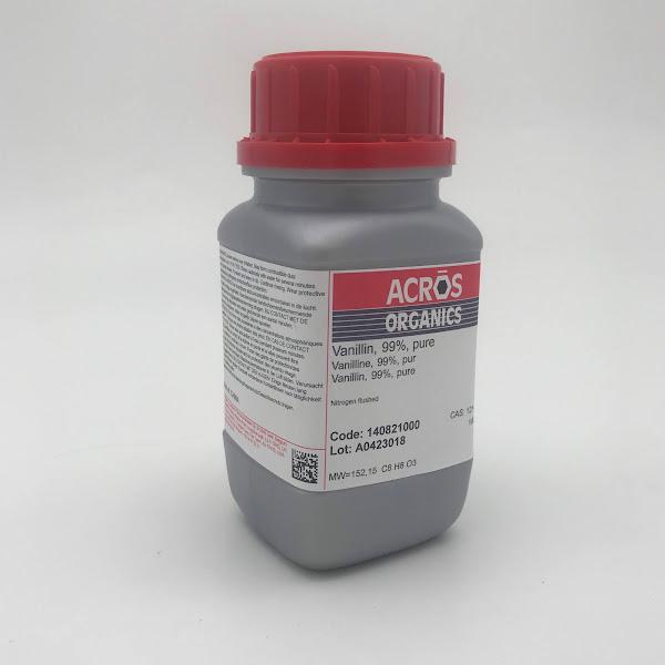 Hóa chất Vanillin (99%, pure, Acros)