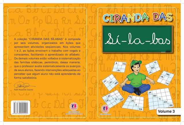 Cirandas das Sílabas Volume 3