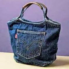O Blog Foi Removido Bolsa Feita De Calça Jeans0blogfoiremovido