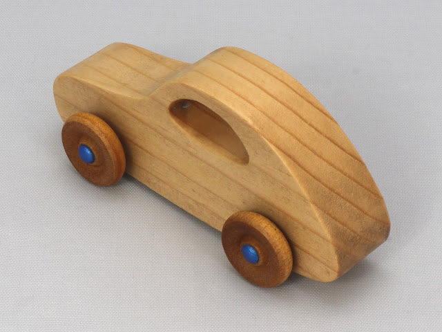 998759731 Handmade Wooden Toy Car From The Play Pal Series