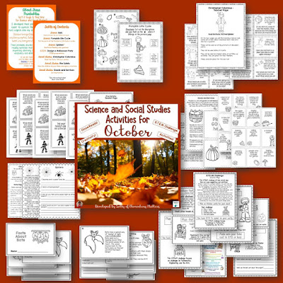 October Resources: Here are several resources, including a few freebies to help your students learn with seasonal fun! (Fire Safety week, football, and Columbus Day!)