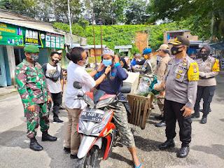 Polres Bersama TNI, Pemda Dan Rumah Bola Perketat Prokes Ditempat Umum
