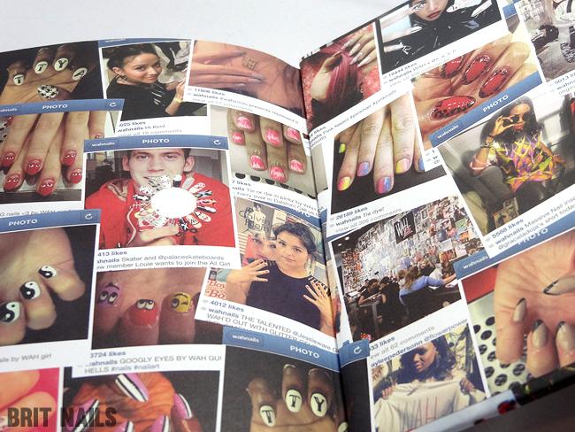 The Wah Nails Book Of Downtown Girls Review Amp Nail Art Brit Nails