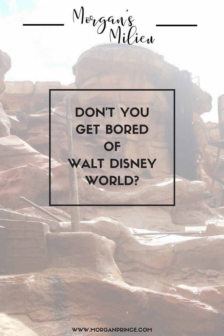 Don't you get bored of Walt Disney World - what a silly question!