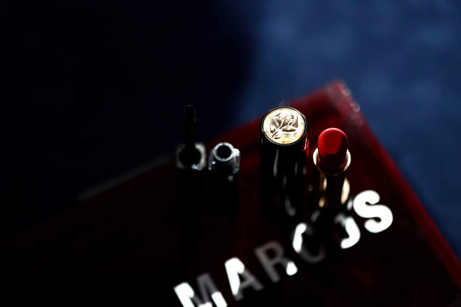 Lancôme Mert Marcus L'Absolu Rouge 198 Rouge Flamboyant swatch