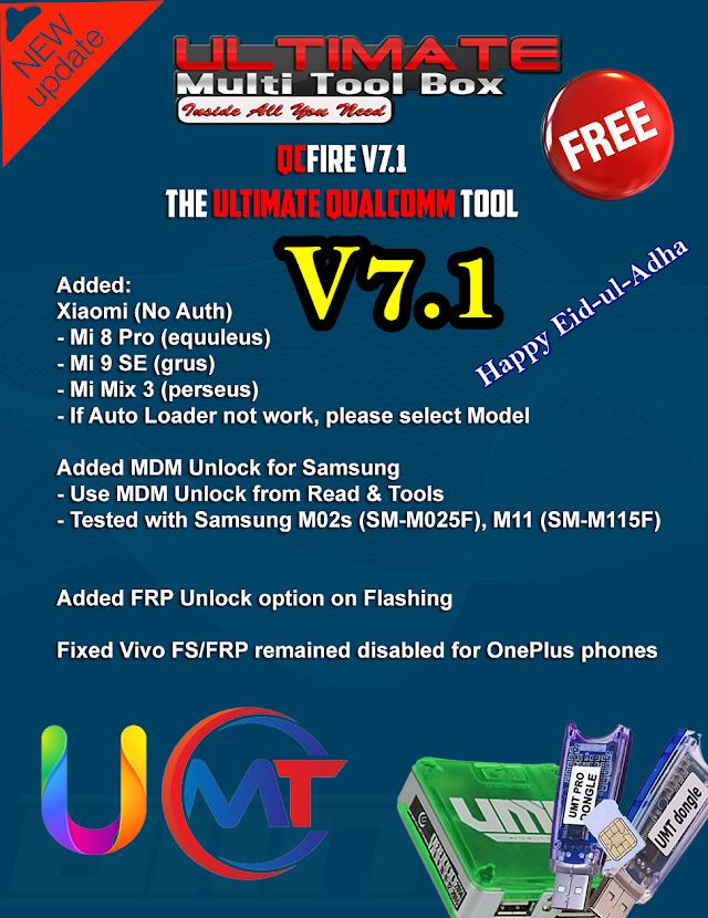 UMTv2 / UMTPro QcFire v7.1 Latest Update Free Download