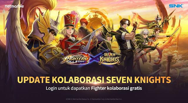 kolaborasi kof allstar seven knight netmarble