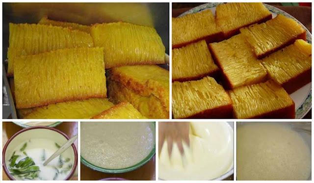 resep cara membuat kue bika ambon