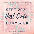 September Host Code ** EDKYS6GK ** UPDATED MONTHLY