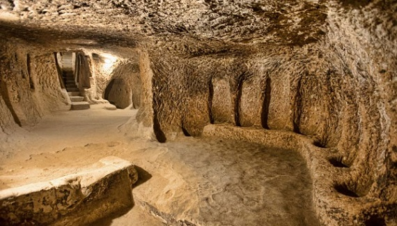 Underground City Turki
