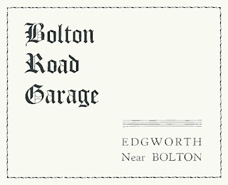 Bolton Road Garage, Edgworth