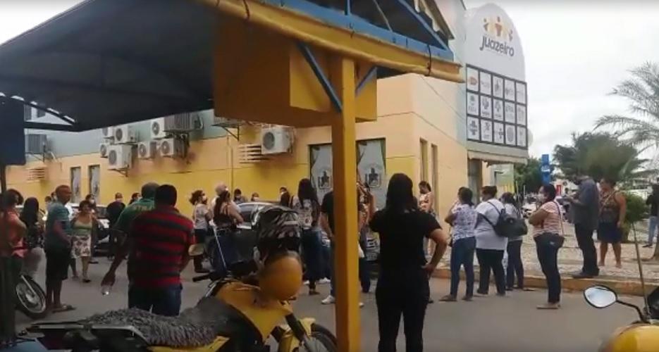 JUAZEIRO: Profissionais de saúde negam-se a trabalhar no interior por falta de condições mínimas e fazem reivindicações pessoalmente - Portal Spy Noticias
