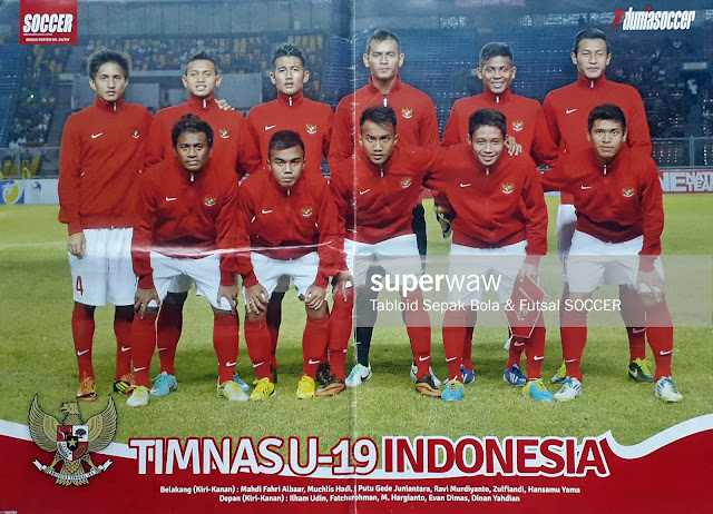 TIM NASIONAL U-19 INDONESIA 2013
