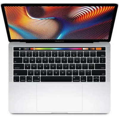 Keyboard dan Layar Apple Macbook Pro 13 Inci 2020