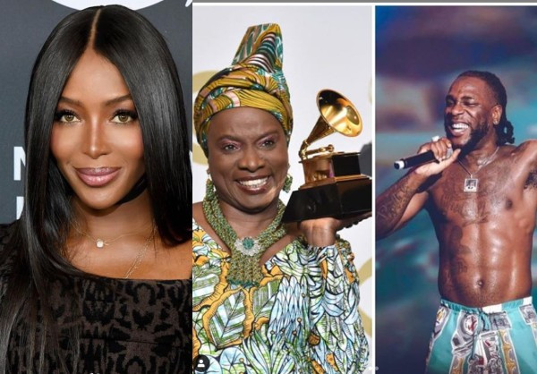 "Naomi Campbell schools the Recording Academy on the Music Genre called ""Afrobeat"""