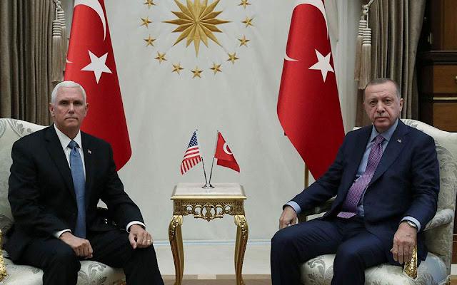 Το παρασκήνιο της συμφωνίας Πενς - Ερντογάν