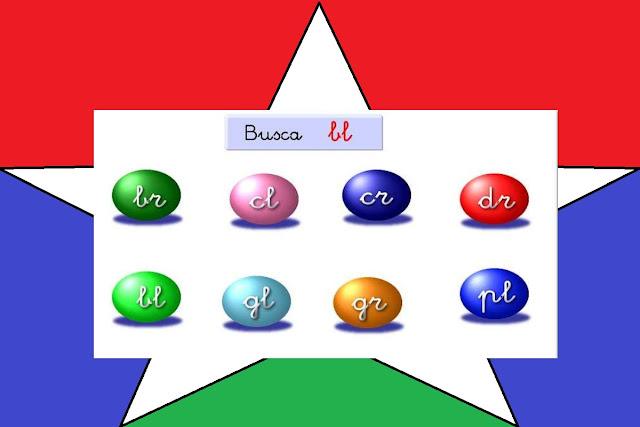 español,primaria,niños,silabas,recurso