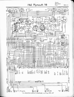 Free Auto Wiring Diagram: 1962 Plymouth V8 Savoy