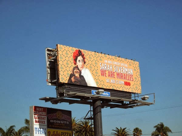 Sarah Silverman We Are Miracles billboard