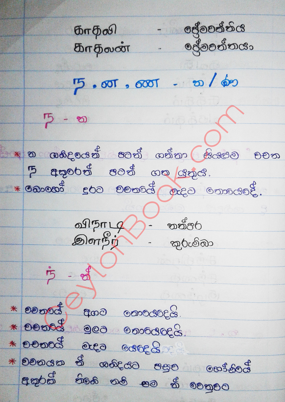 In pdf basic tamil english grammar