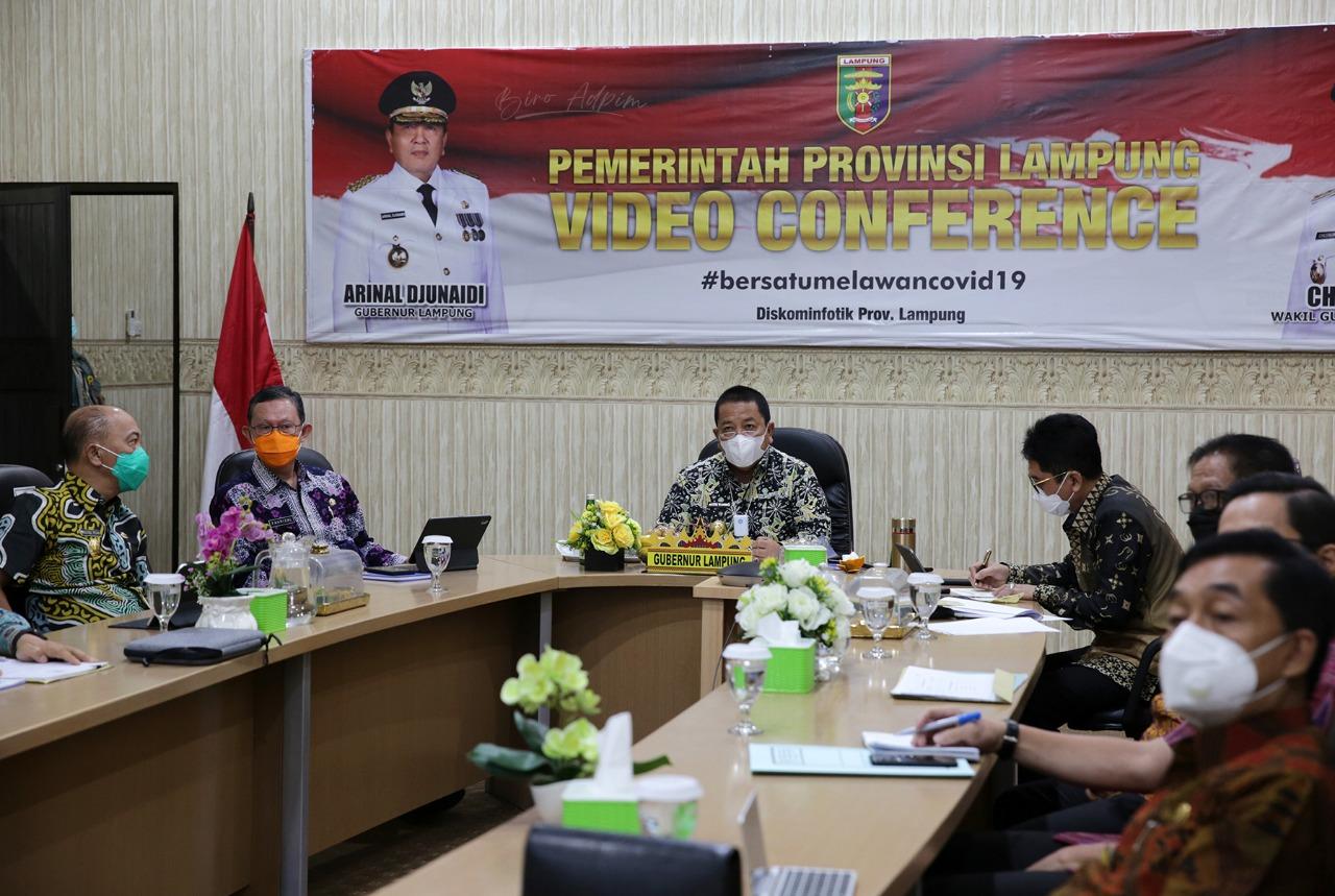 Hadiri Rakor Bersama Tim Korsupgah KPK, Gubernur Arinal Tegaskan Komitmen Pemprov Lampung dalam Pencegahan Korupsi