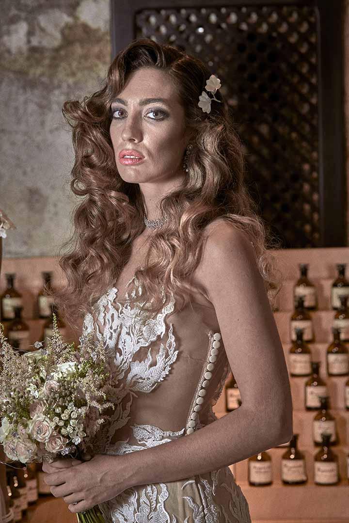 peinados de novia civil 2020