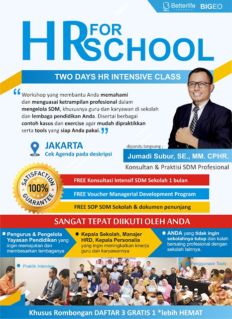 Pelatihan SDM - Manajemen Pendidikan - Manajemen Sekolah