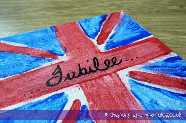 Diamond Jubilee Canvass Art | The Purple Pumpkin Blog