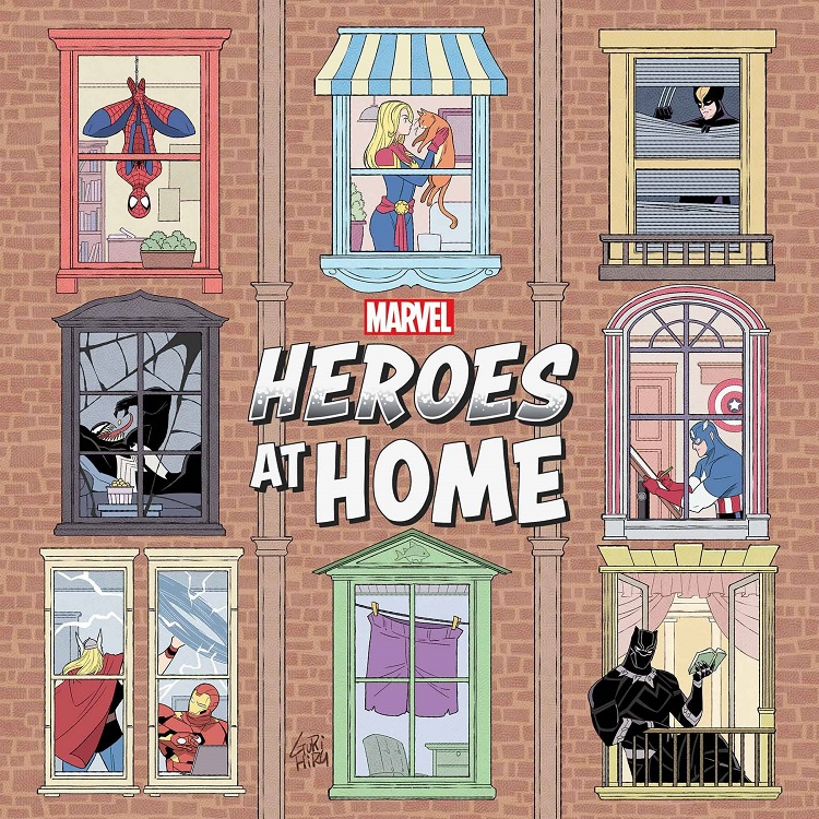Cover of Heroes at Home #1