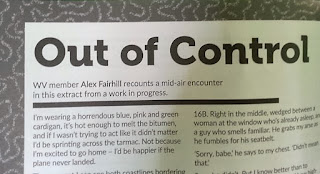 A photograph of the article titled 'Out of Control'.
