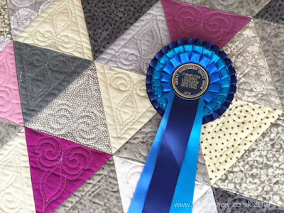 Great Northern Quilt Show 2018 -  Referendum Quilt, Best Computer Guided Longarm Quilt
