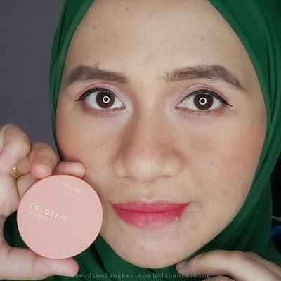 Cream Blush on colorfit
