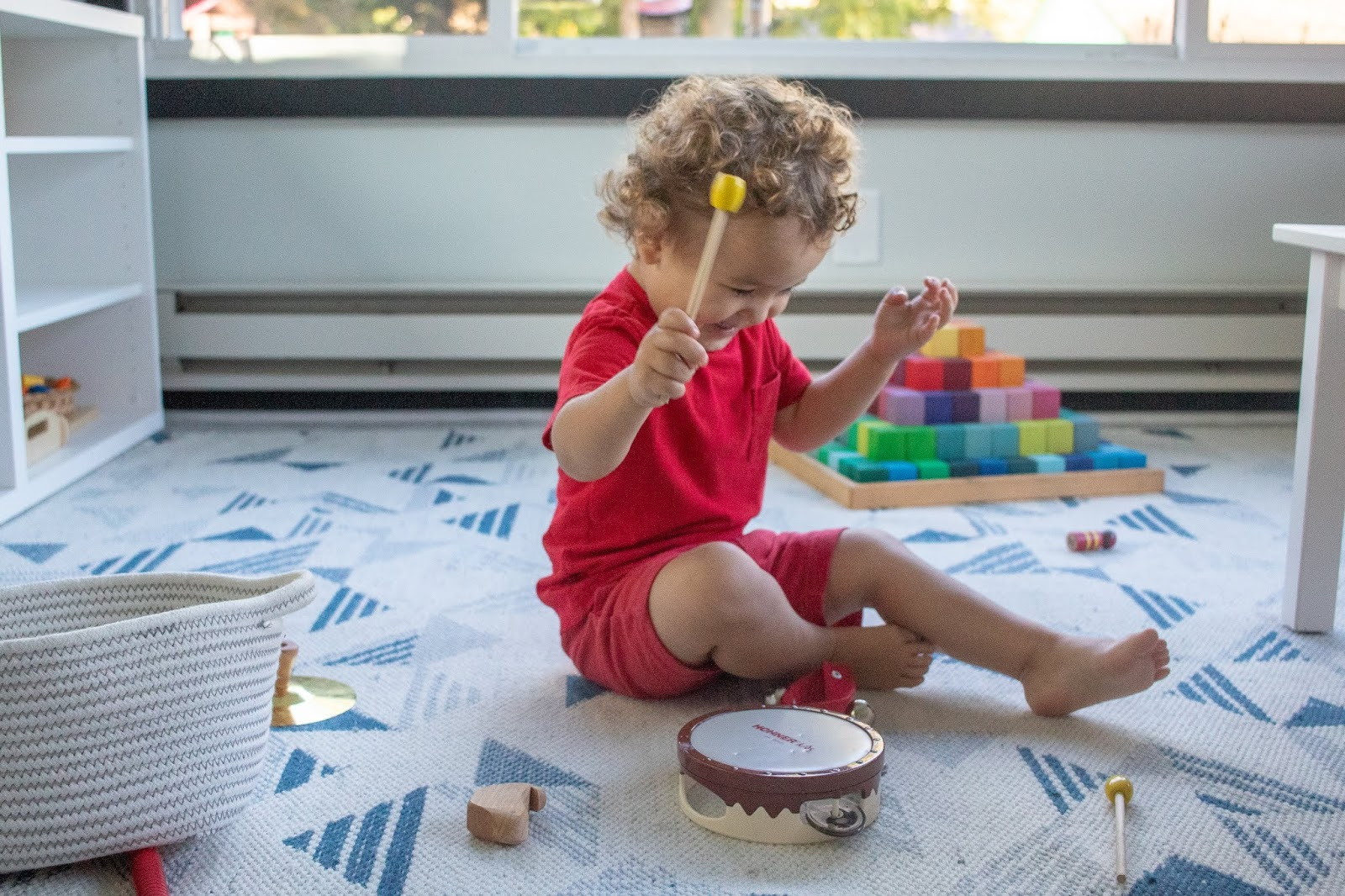 Montessori ideas for developing the sense of hearing - and why it is important