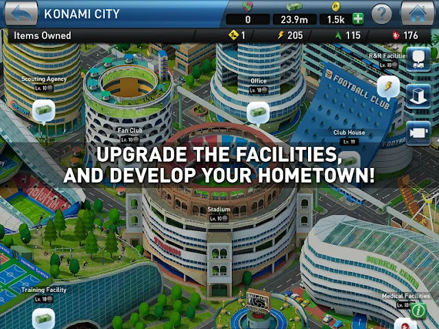PES CLUB MANAGER Free Android Game on Apcoid.com