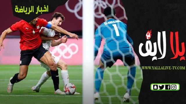 حجازي يتعهد بتحسين الأداء في مباريات الأولمبياد القادمة