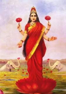 लक्ष्मी - राजा रवि वर्मा
