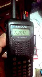 Reset Radio HT Kenwood TH-255A