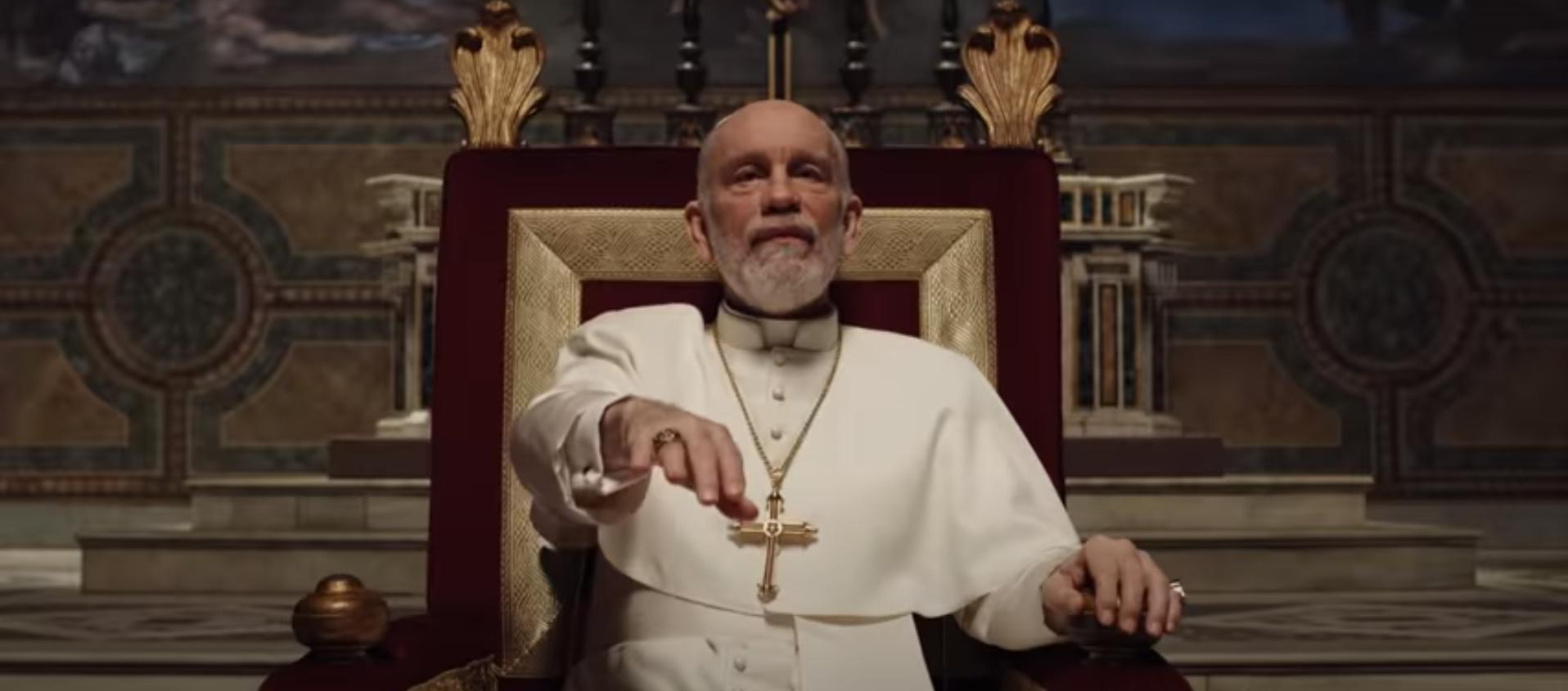 Новый Папа скриншот из сериала 2020