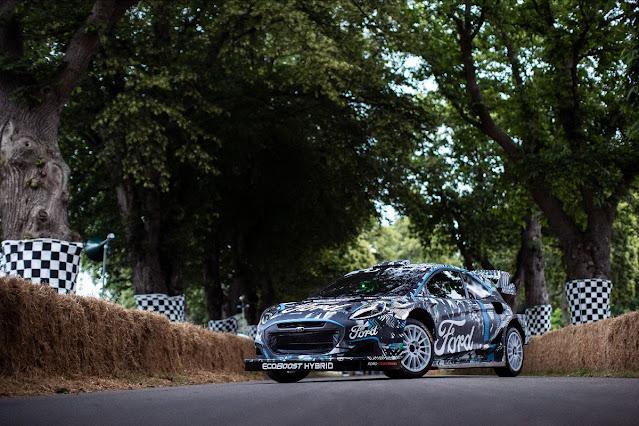 Ford Puma World rally car rally1