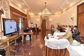 PJ Gubernur Jambi Hadiri Pembukaan Rakortekrenbang Secara Daring*