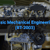 Basic Mechanical Engineering (BT-2003)